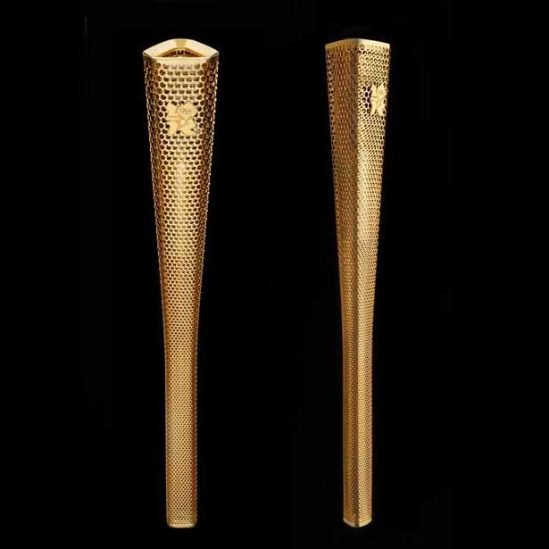 Barber Osberby's London 2012 Olympic Torch