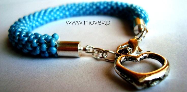 www.movev.pl | błękitna bransoletka TOHO