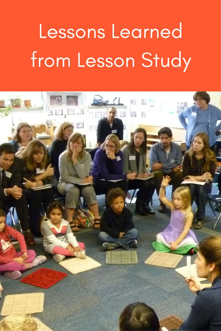 Lessons learned from 70 days of lesson study with grade 3 through high school math teachers.