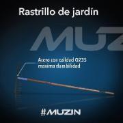 Rastrillo Para Jadín En Acero Muzin XHT160 #rastrillo #jardineria #herramientas #muzin #virtualmall @fumitienda