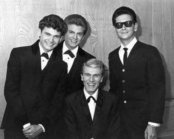 The Everly's, Adam Faith, and Roy Orbison.  1962