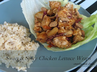 Sweet & Spicy Chicken Lettuce Wraps: Asian Recipes, Chicken Recipes, Sweets, Recipe Ideas, Recipes Lettuce Wrap, Dinner Recipes, Spicy Chicken, Chicken Lettuce Wraps, Favorite Recipes