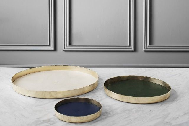 Karui trays design GamFratesi • Skultuna