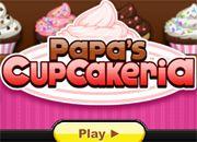Papa's Cupcakeria | Hi juegos de cocina - jugar online