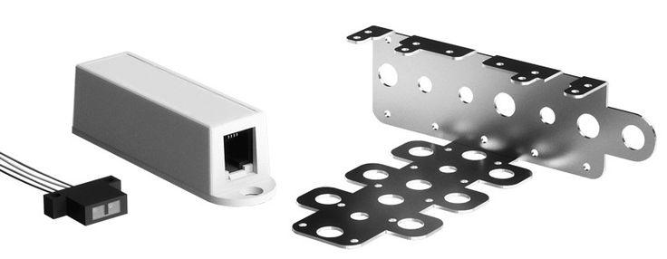 Infrarot-Sensor für Zugriffsüberwachung zu Technik-, Schalt- und Serverschrank  #Zutrittskontrolle #Überwachung #Infrarotsensor #Sicherheit #Überwachungstechnik #Serverraum #Rechenzentrum