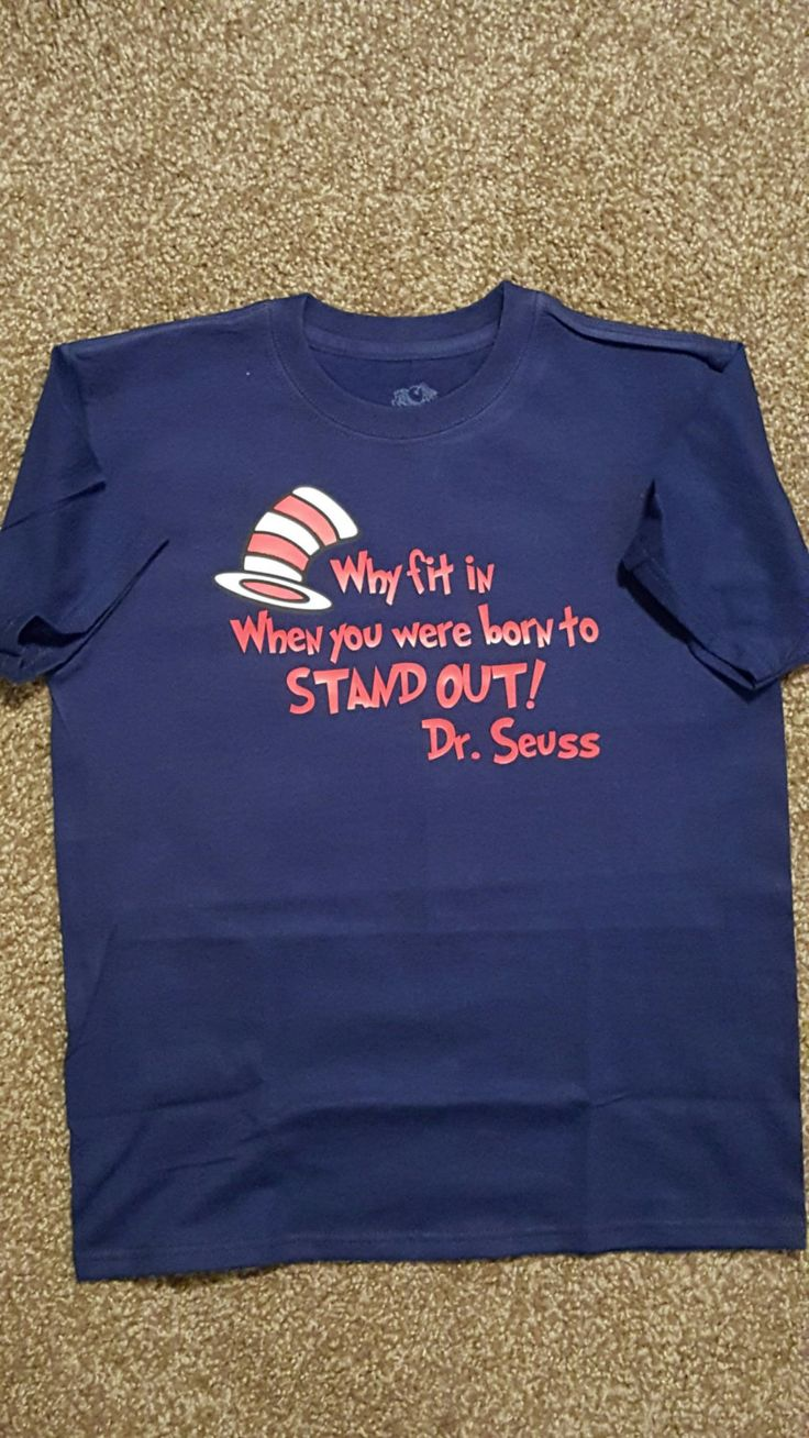 Dr Seuss Shirt/Dr Seuss Birthday/Dr Seuss Day by JANDDDESIGNS2015 on Etsy