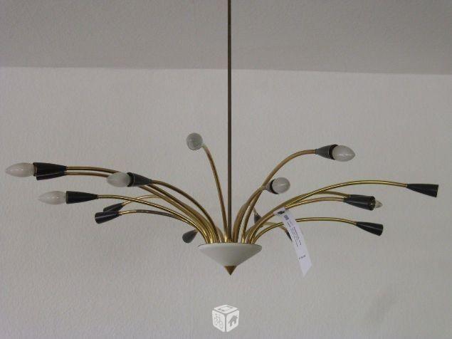 Foto de Lámpara de techo vintage años 50 60 Sputnik Araña