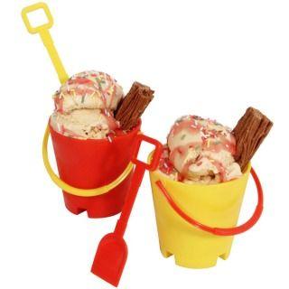 Set secchielli e palette da gelato