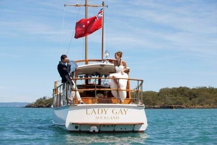 Lady Gay available for exclusive hire from Corporate Explore