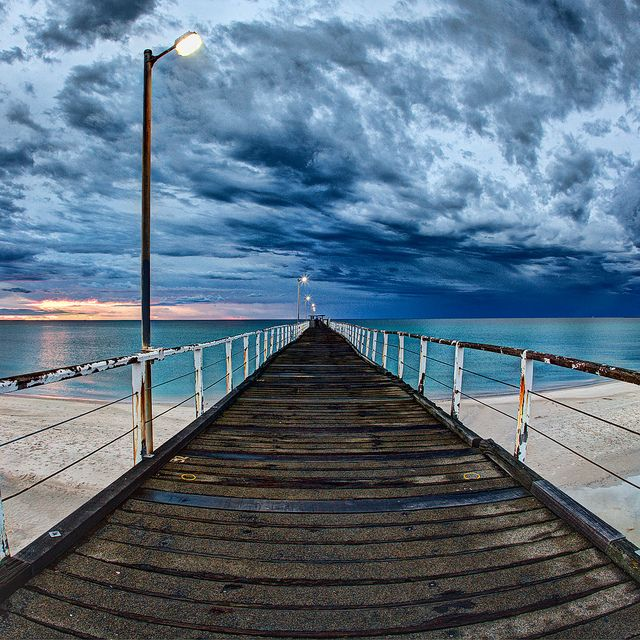Largs Pier, Adelaide, Australia