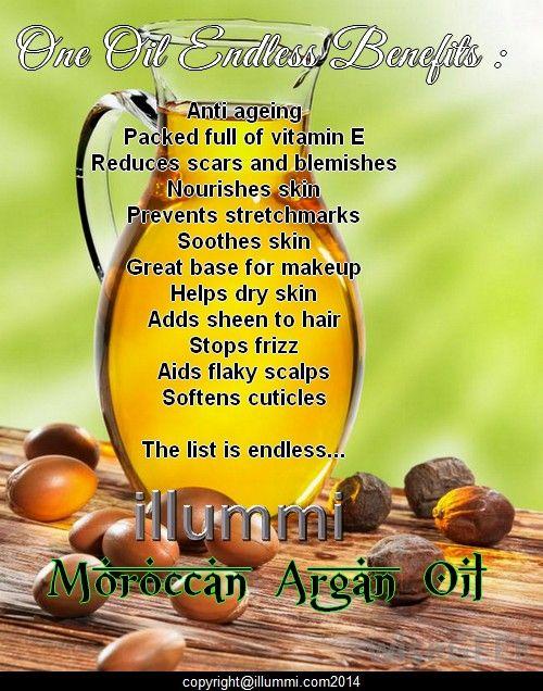 Why you must have illummi Argan Oil.
