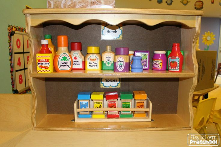 play kitchen food storage 10 images about pre k learning centers on 4283