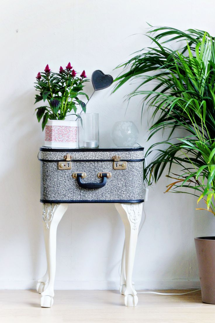 DIY Vintage Suitcase Crafts for Your Home
