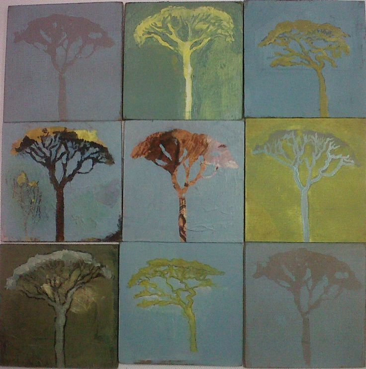 Pierneef trees. Pascals chandler