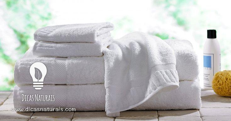 Como recuperar a suavidade das toalhas velhas