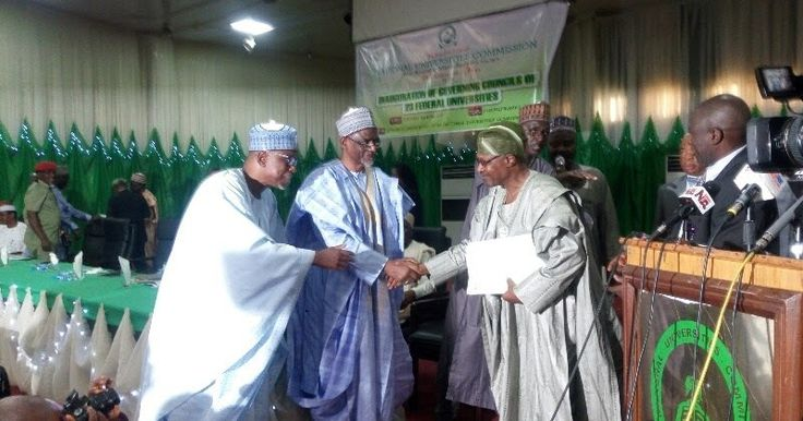 The Minister of Education Adamu Adamu on Tuesday inaugurated the Governing Councils of 23 out of the 40 federal universities in the country.  The new councils are to serve for a period of four years.  Mr. Adamu said the inauguration came on the heels of the completion of the tenure of the immediate past governing councils appointed in April 2013.  According to the minister the governing councils are charged with the responsibilities of approving the financial guidelines of the universities…