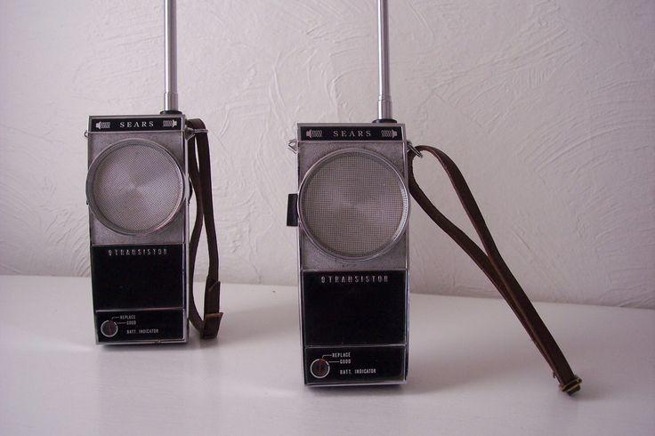 vintage walkie talkies