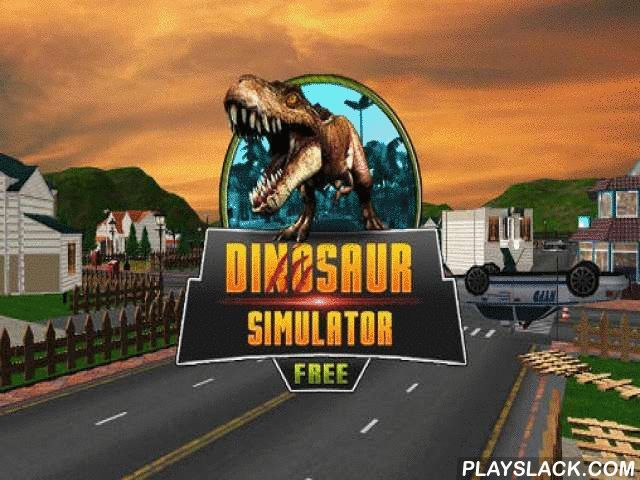 Dinosaur Simulator  Android Game - playslack.com , Control an enormous dinosaur who happened to be in a contemporary municipality. govern the large vertebrate through the roads, noise vehicles, constructions, and so on. In this Android game you'll learn what the saurian from the period period can do in the contemporary world. Such a monster is not frightened of any barriers and fences. It can propel vehicles, end rods, and create an actual confusion. finish mind-blowing quests in disparate…