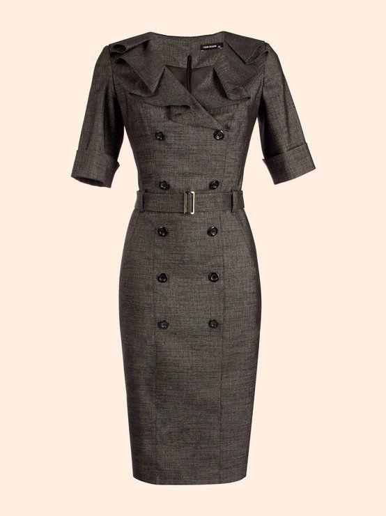 cute coat dress!  | followpics.co