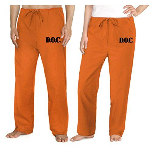 Prison Uniform Bottoms Jail Orange Pants Prisoner Costume Broad Bay http://smile.amazon.com/dp/B00O279DTG/ref=cm_sw_r_pi_dp_kJvlub18X4083