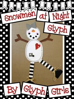 """Your students will have a blast creating these fabulous snowmen, interpreting data, and displaying their creative writing this winter! Look what is included in this 33 page resource: ❄️Glyph Survey ❄️Glyph Key ❄️Glyph Patterns ❄️Detailed Directions ❄️2 different Data Sheets ❄️5 pages of Snow Facts which can be displayed on a bulletin board ❄️3 different """"Snow-ology"""" Question Sheets ❄️5 pages of writing templates ❄️Photos (including our"""