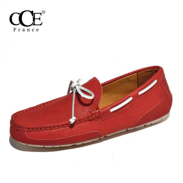 CCE Genuine Leather Polish Wax Men Loafers - 4247