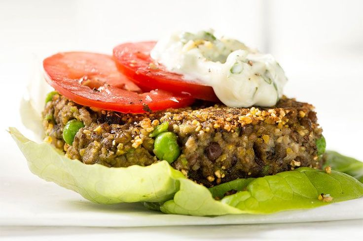 Lentil Burgers with Lemon-Basil Mayonnaise recipe by Giada de Laurentiis. I make these vegan burgers when I want to eat a bit lighter but crave something that feels indulgent and hearty.
