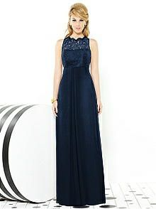 After Six Bridesmaids Style 6722 http://www.dessy.com/dresses/bridesmaid/6722/