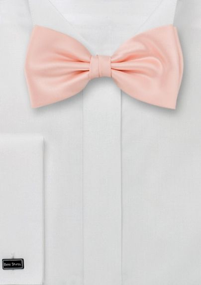 Solid Peach-Pink Bow Tie  (had to, its so cute) $12