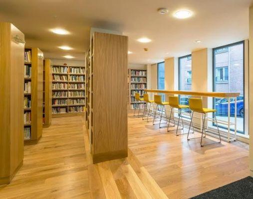 Scottish Poetry Library interior