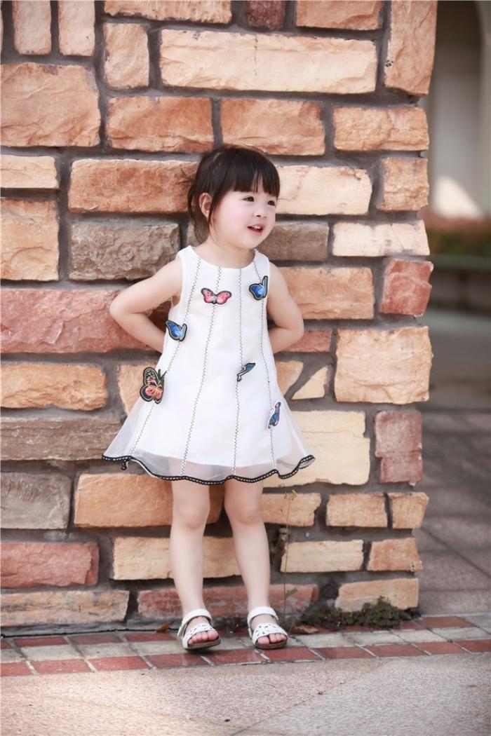 e69c54e3a Summer Girls Cloth Paste Organza Gauze Dress Jumper Skirt    Import-express.com