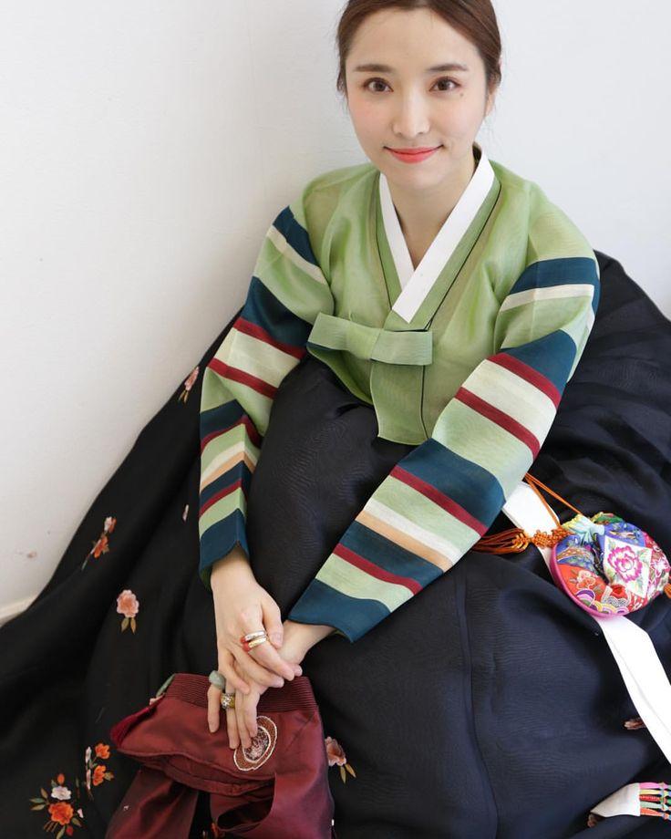 봄가을 한복 #한복 #바느질풍경 #김복희 #sewinglandscape #dress #hanbok