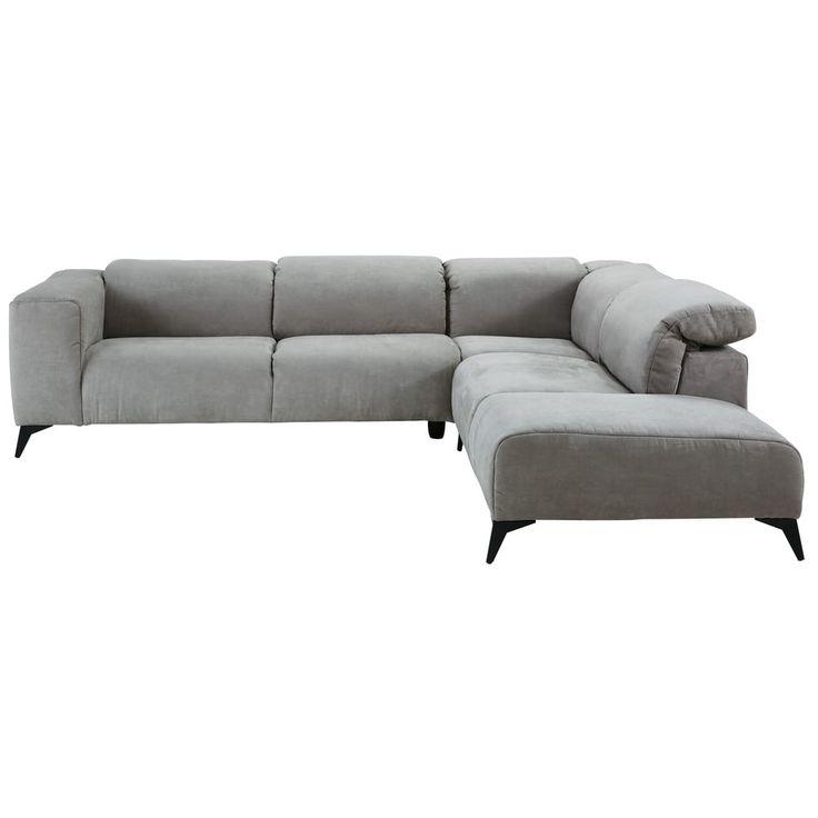 Die besten 25+ Sofa hellgrau Ideen auf Pinterest Couch hellgrau - grose couch kleines wohnzimmer