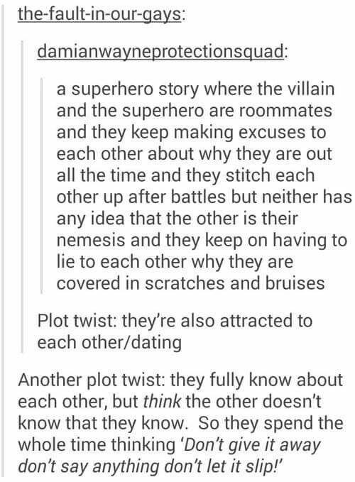 HAHAHAHA this reminds me if a fanfic I read, it's called excelsior ( it's Usuk so..)