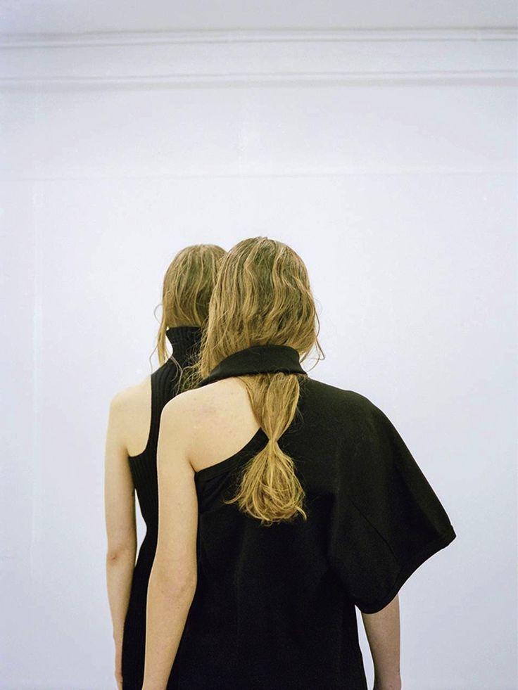 Elensio @ IMG London & Sophia @ Next Models London by Hart + Leshkina for Novembre Magazine.