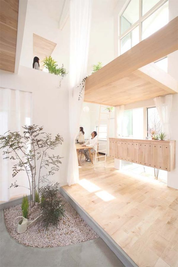Minimalist Japanese House In Close Connection With Nature