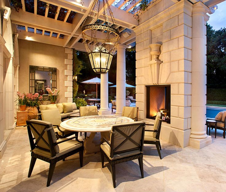 1000 images about outdoor living on pinterest for Luxury outdoor living spaces