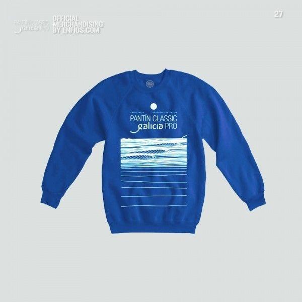 Jersey PANTIN 27 azul