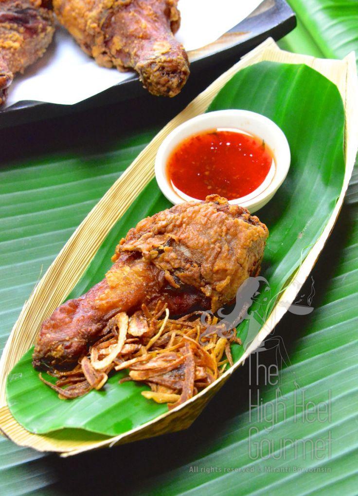 Thai Street Side Fried Chicken - Gai Todd Hat Yai by The High Heel Gourmet 2