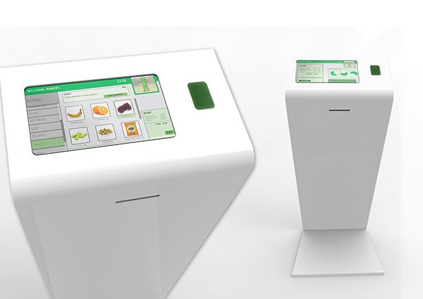 Eat Healthy Kiosk on Behance