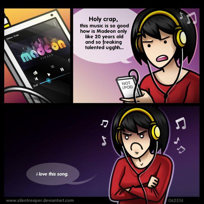 Music Lover by SilentReaper on DeviantArt