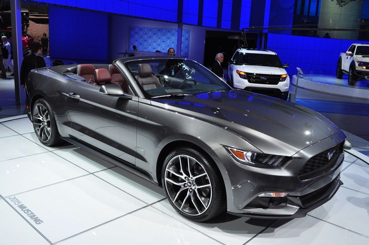2016-Ford-Mustang-Convertible. Drove one in Florida. Liked it more than I thought I would!