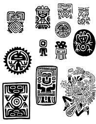 Resultado de imagen para simbolos mayas