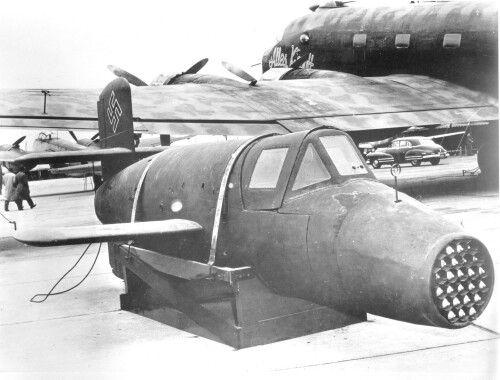 BA 349 Natter. German BA 349 was a 1st manned, vertical-take-off interceptor.