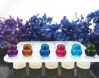 Nieuwe kalebas kralen siliconen Mold - Wavelet siliconen mallen riffle ambachtelijke schimmel, cabochon schimmel, sieraden hars schimmel, klei mal, flexibele schimmel