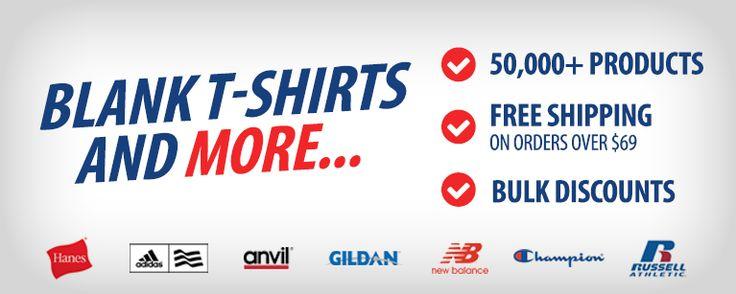 Blank T-Shirts, Wholesale T-Shirts, Free Shipping - Shirtmax