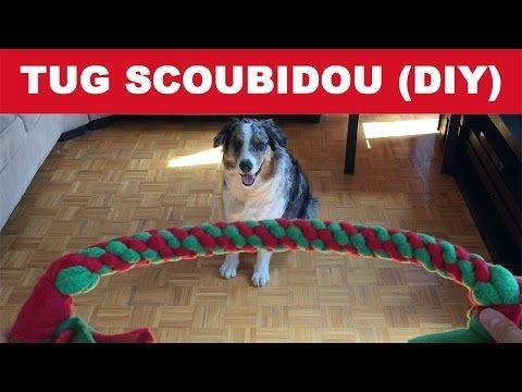 [DIY] Comment fabriquer un TUG SCOUBIDOU pour votre chien - Tutoriel - YouTube