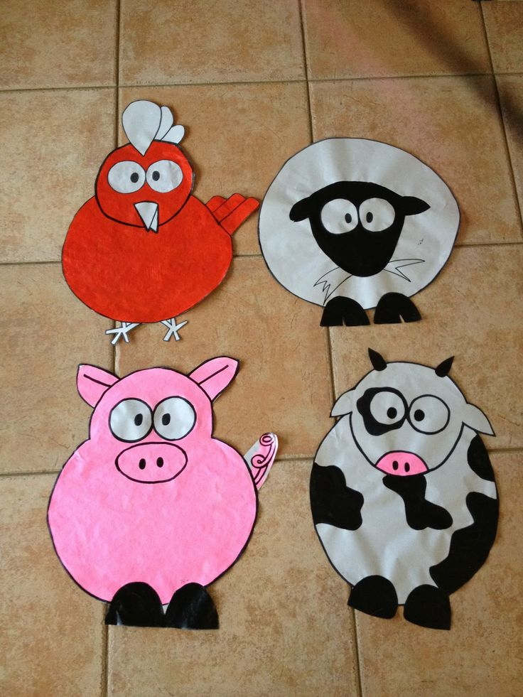 50 best images about farm crafts on pinterest farm for Animals art and craft for preschoolers
