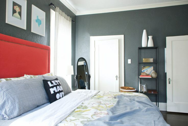 Bedroom Decor Gray And Blue