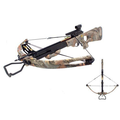 Bow hunting - SAS 150 lbs Panther Compound Crossbow